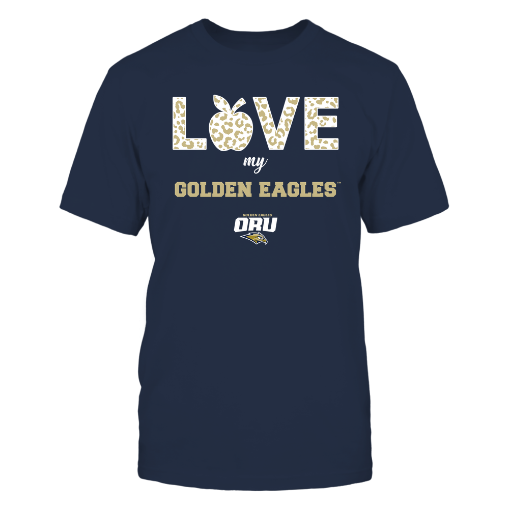 Oral Roberts Golden Eagles - Teacher - Love My Team Front picture