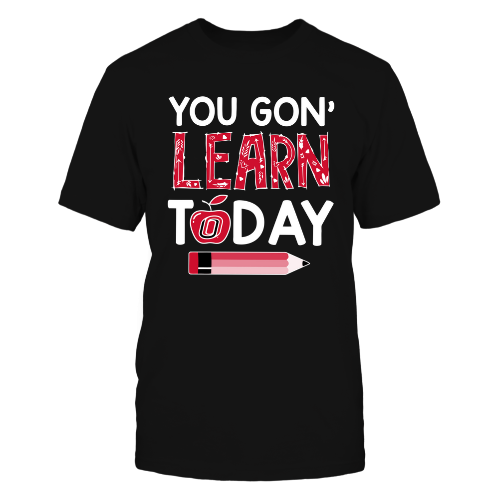 Nebraska Omaha Mavericks - Teacher - You Gon' Learn Today - Team Front picture