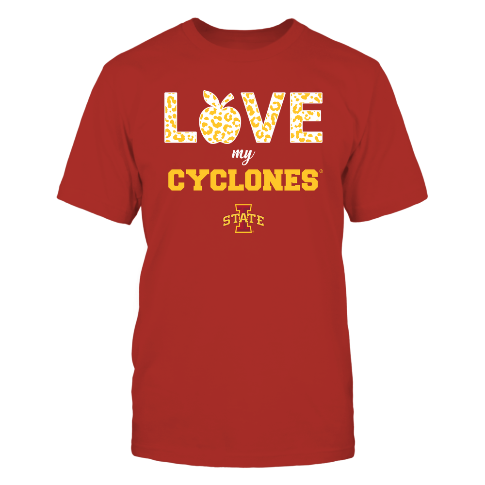Iowa State Cyclones - Teacher - Love My Team Front picture