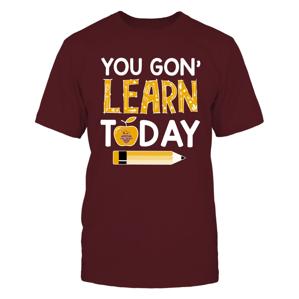 Cal State Dominguez Hills Toros - Teacher - You Gon' Learn Today - Team Front picture