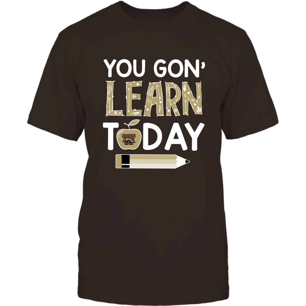 Western Michigan Broncos - Teacher - You Gon' Learn Today - Team Front picture