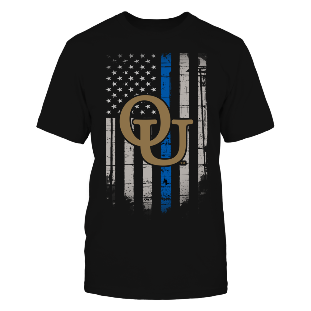 Thin Blue Line - Oakland Golden Grizzlies Front picture