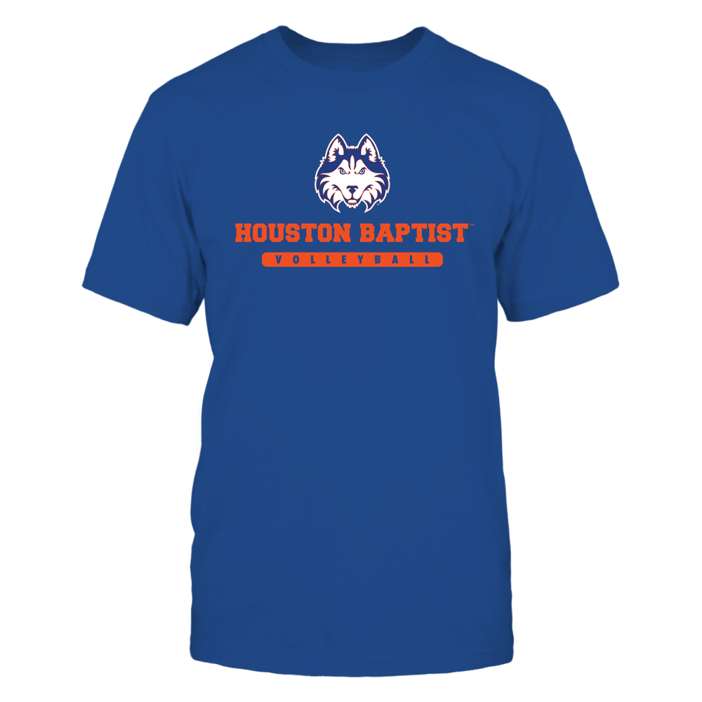 Houston Baptist Huskies - School - Logo - Volleyball Front picture