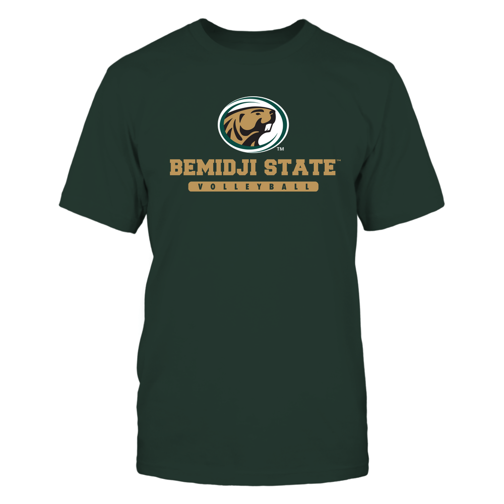Bemidji State Beavers - School - Logo - Volleyball Front picture
