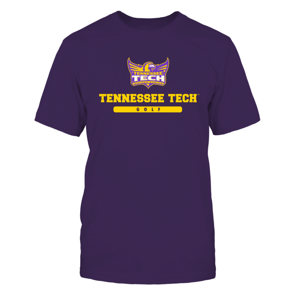 Tennessee Tech Golden Eagles - School - Logo - Golf Front picture