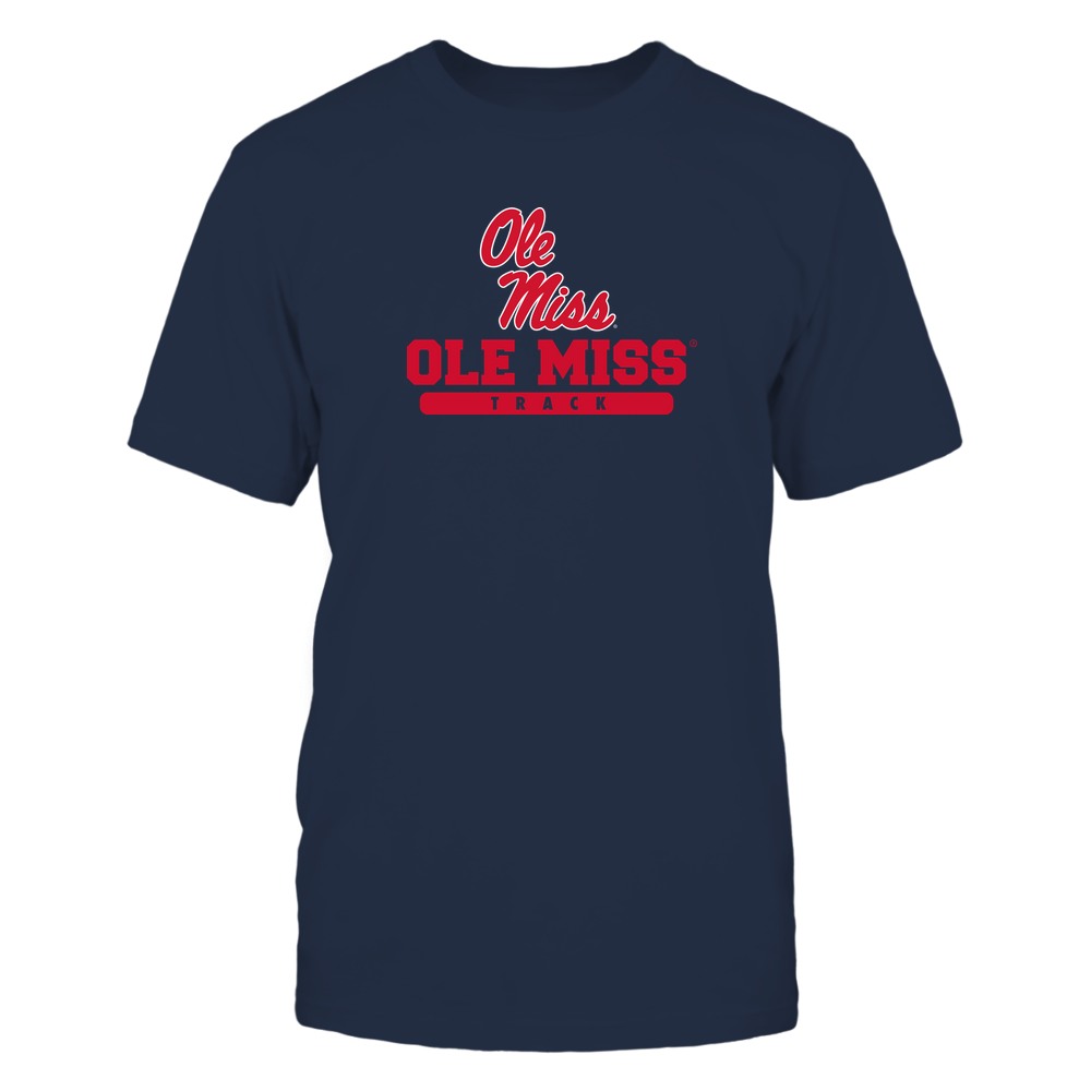 Ole Miss Rebels - School - Logo - Track Front picture
