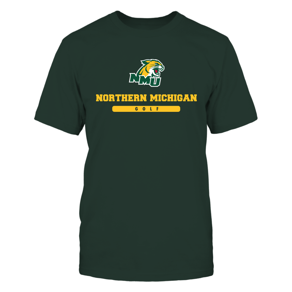 Northern Michigan Wildcats - School - Logo - Golf Front picture