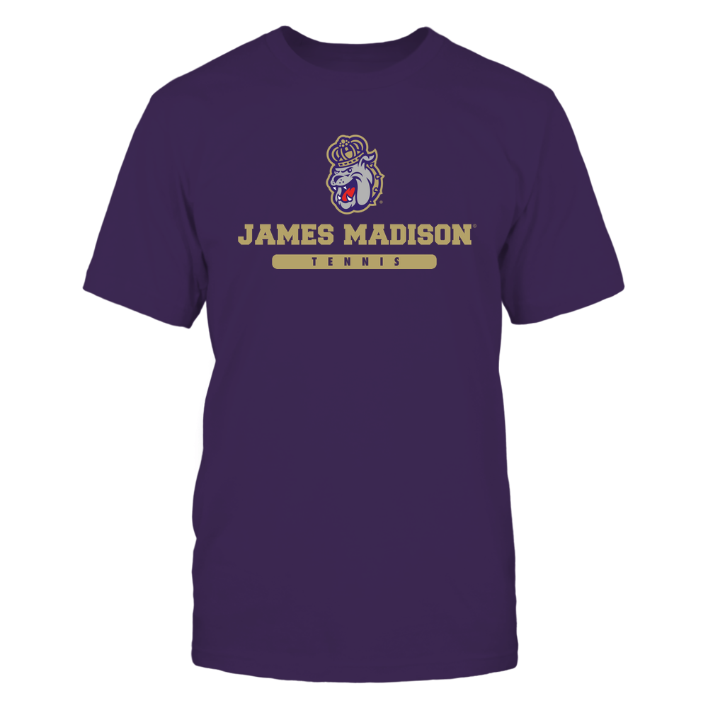 James Madison Dukes - School - Logo - Tennis Front picture