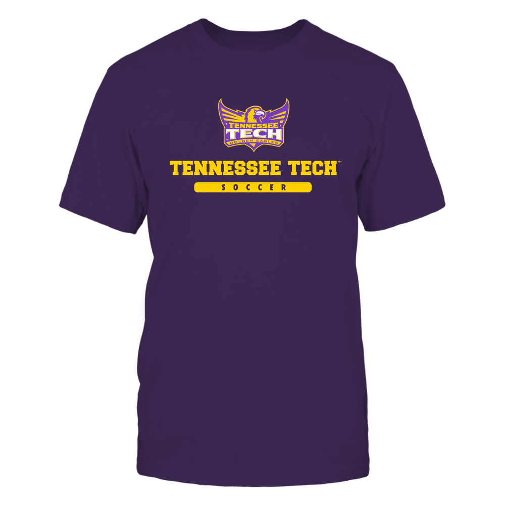 Tennessee Tech Golden Eagles - School - Logo - Soccer Front picture