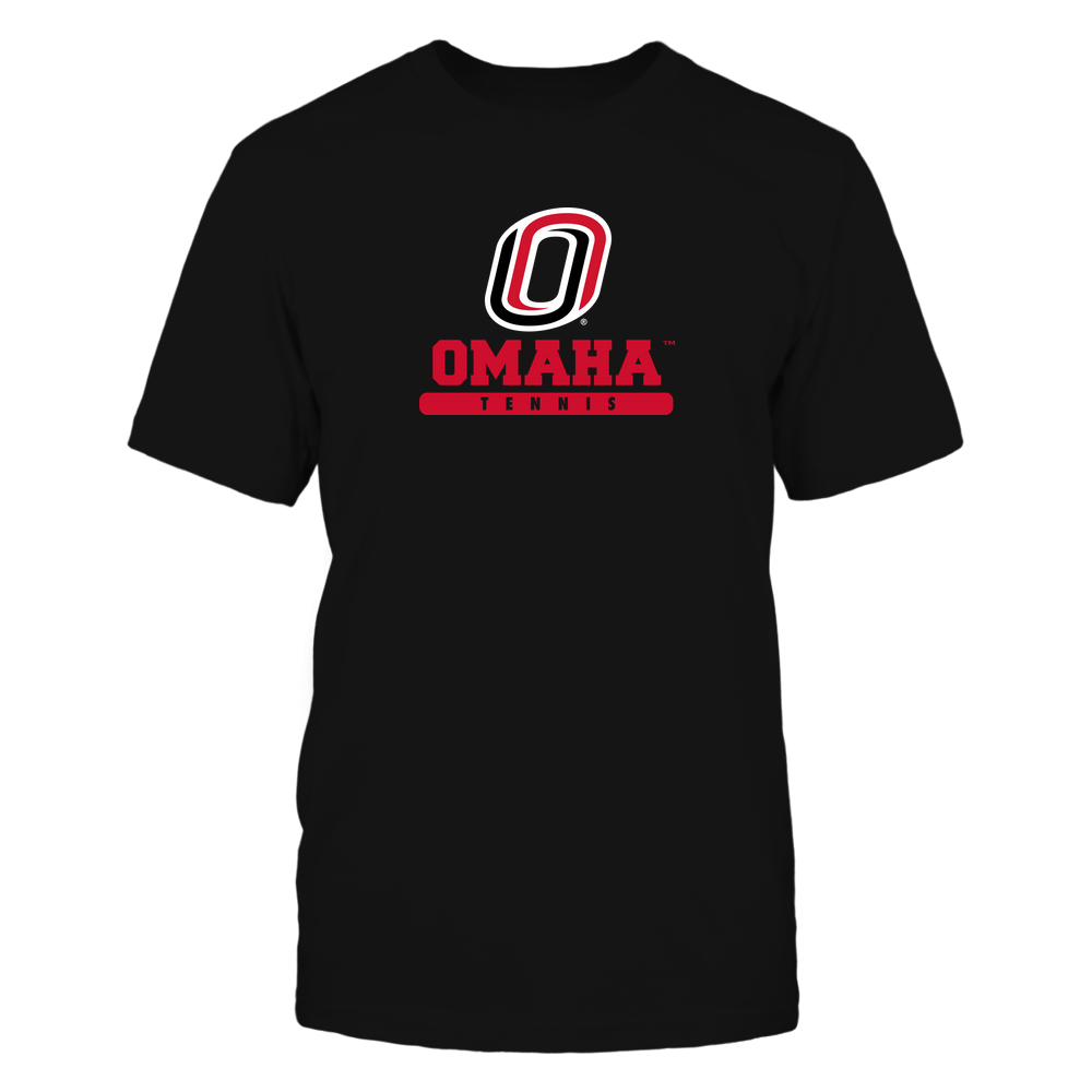 Nebraska Omaha Mavericks - School - Logo - Tennis Front picture