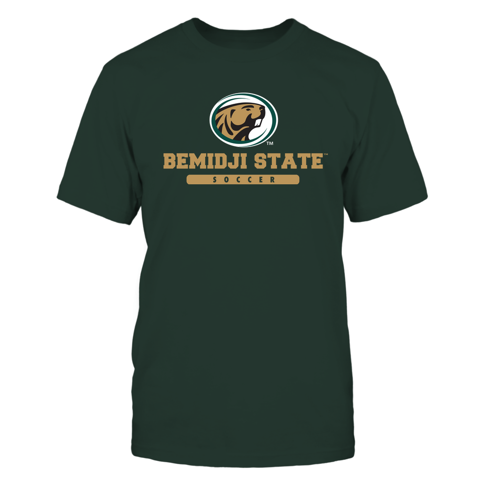 Bemidji State Beavers - School - Logo - Soccer Front picture