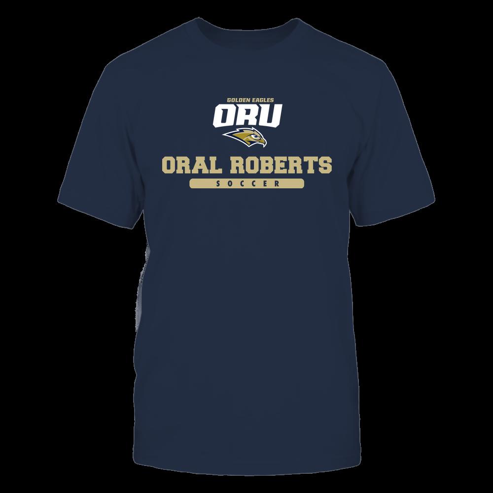 Oral Roberts Golden Eagles - School - Logo - Soccer Front picture