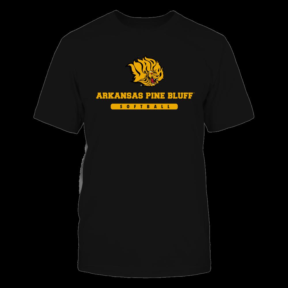 Arkansas Pine Bluff Golden Lions - School - Logo - Softball Front picture