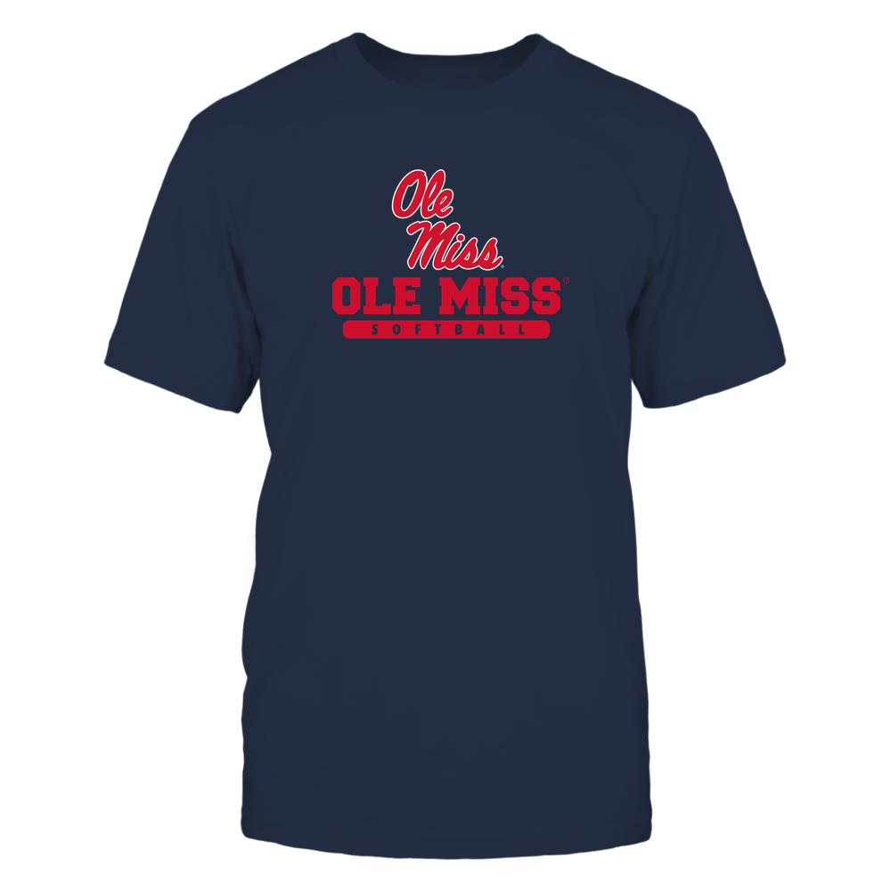 Ole Miss Rebels - School - Logo - Softball Front picture