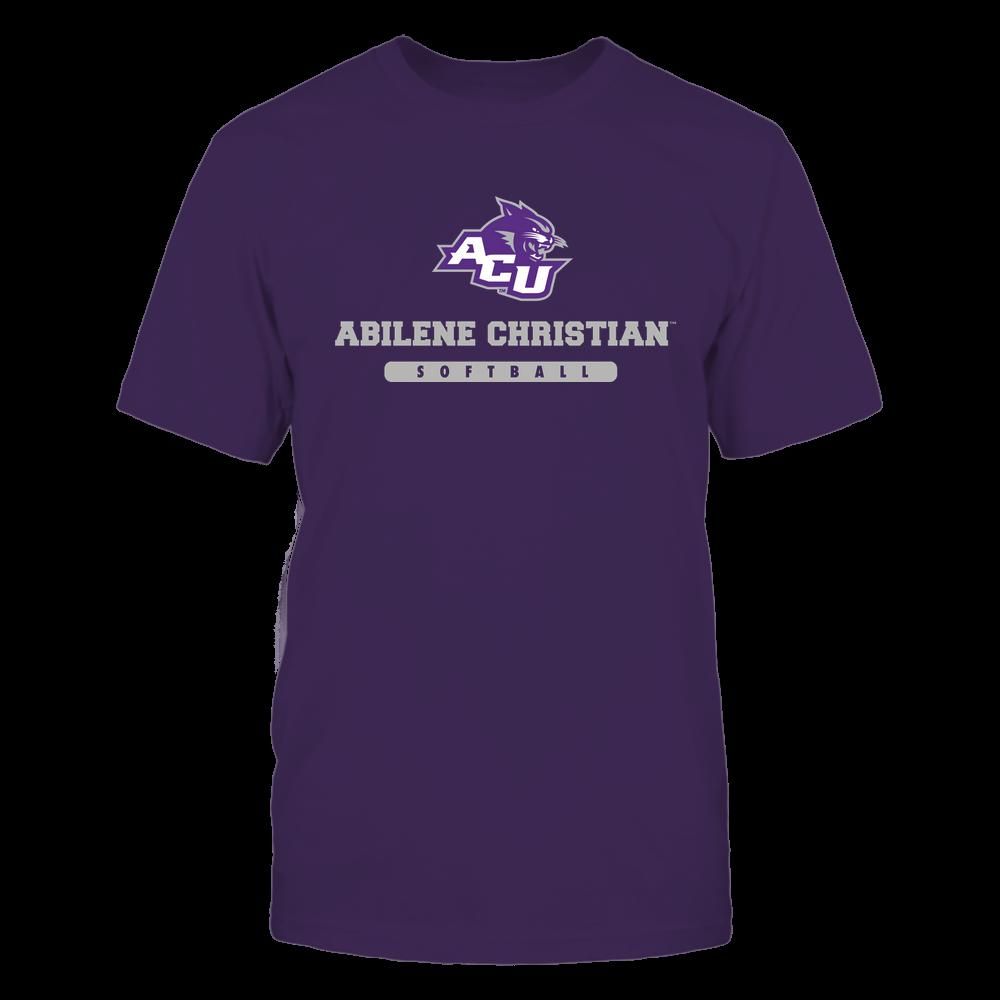 Abilene Christian Wildcats - School - Logo - Softball Front picture