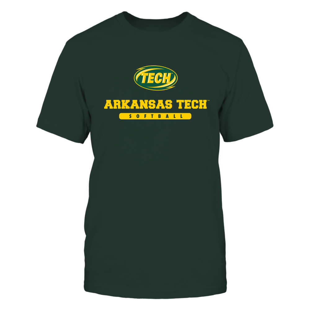 Arkansas Tech Golden Suns - School - Logo - Softball Front picture
