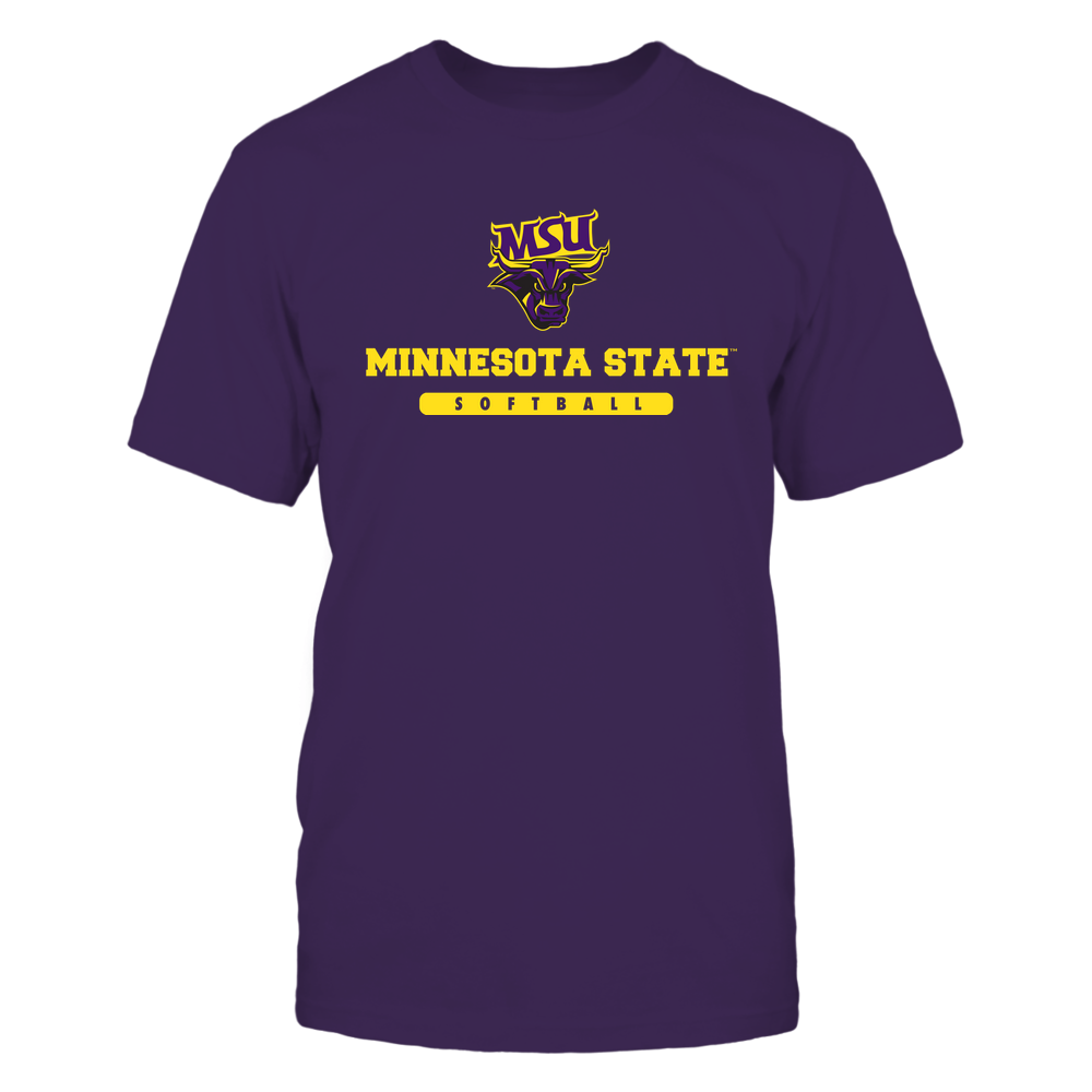 Minnesota State Mavericks - School - Logo - Softball Front picture