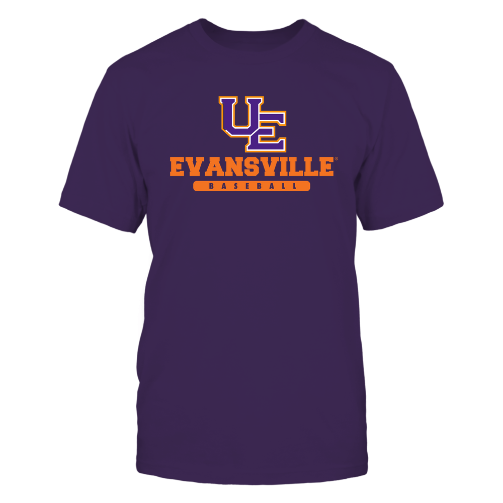 Evansville Purple Aces - School - Logo - Baseball Front picture