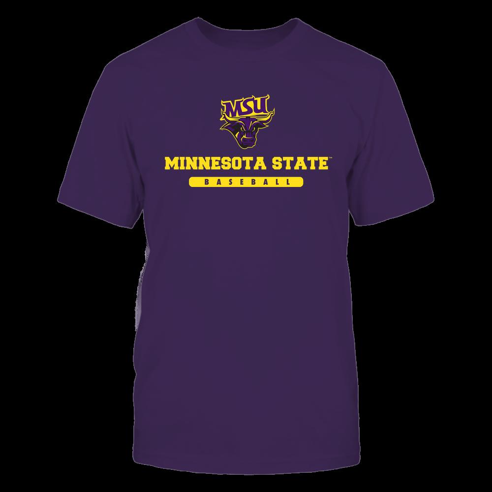 Minnesota State Mavericks - School - Logo - Baseball Front picture