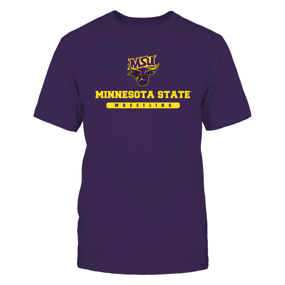 Minnesota State Mavericks - School - Logo - Wrestling Front picture