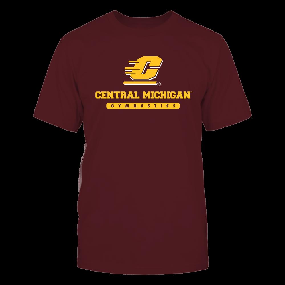 Central Michigan Chippewas - School - Logo - Gymnastics Front picture