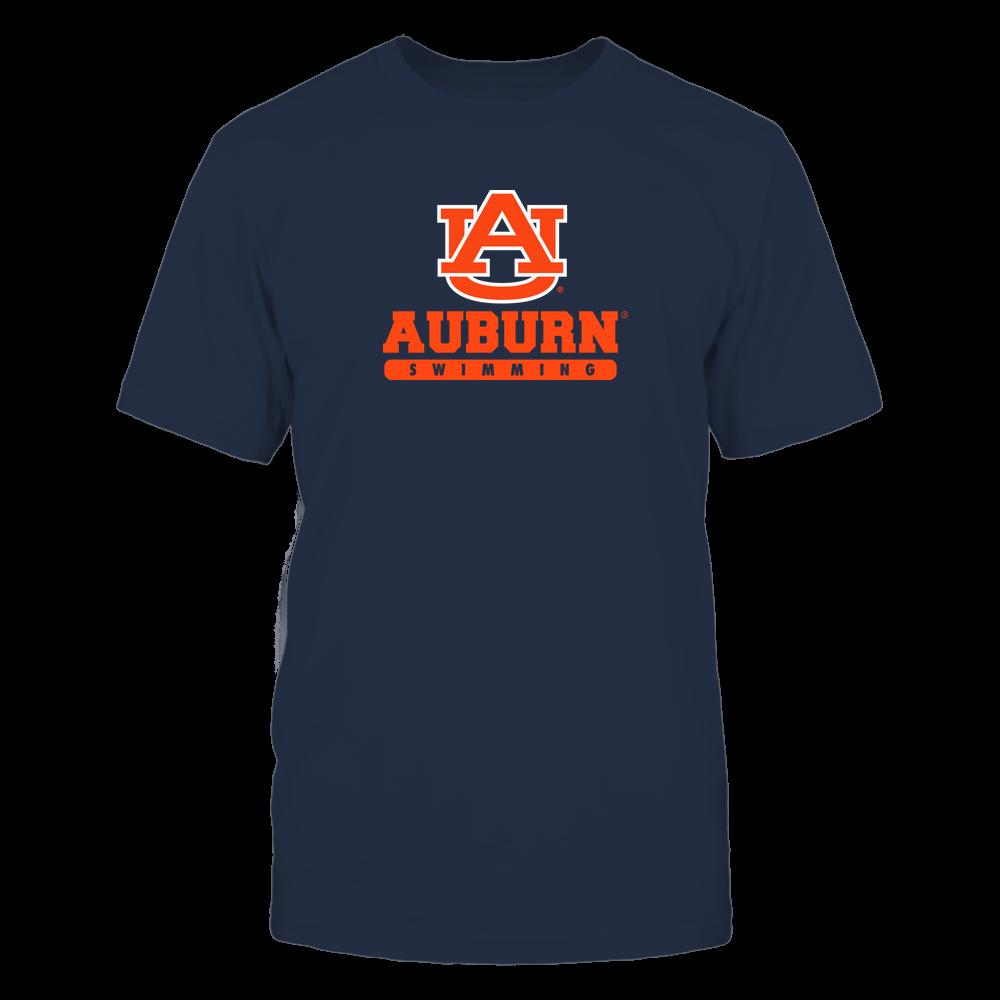 Auburn Tigers - School - Logo - Swimming Front picture