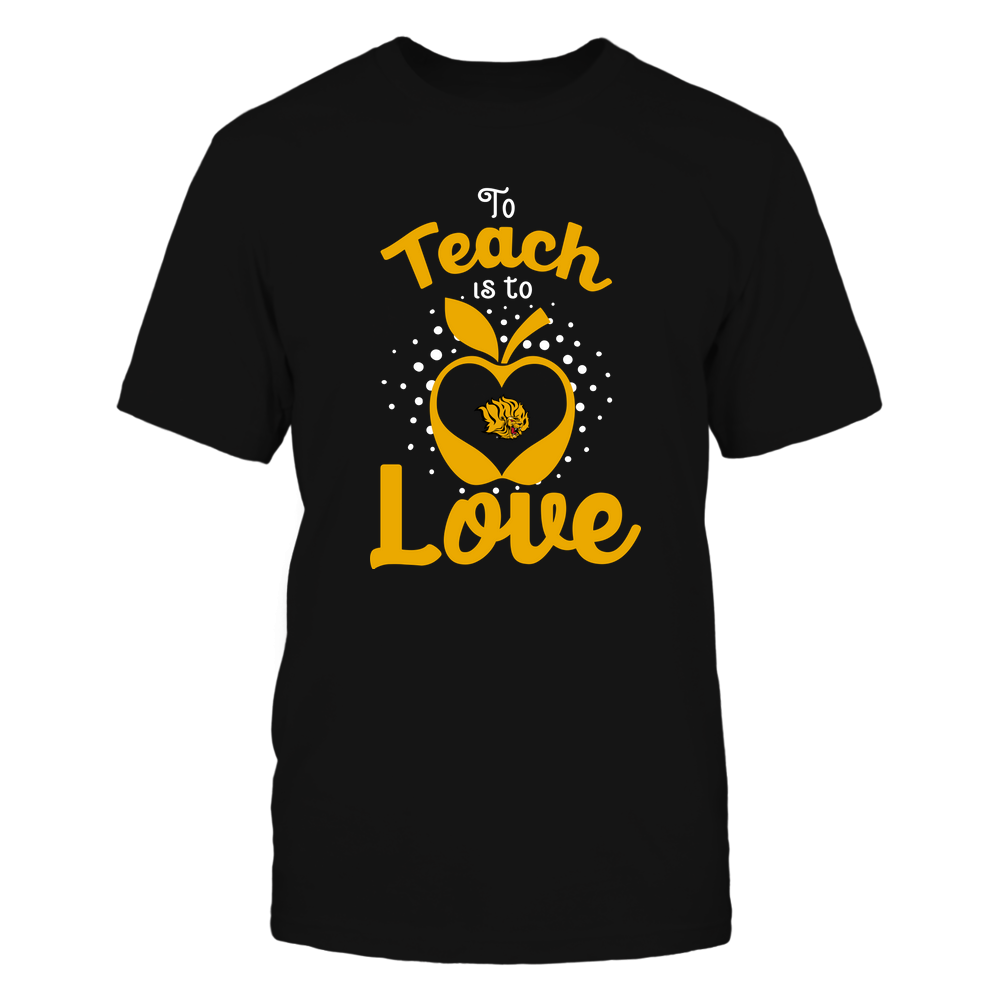 Arkansas Pine Bluff Golden Lions - To Teach Is To Love - Team Front picture