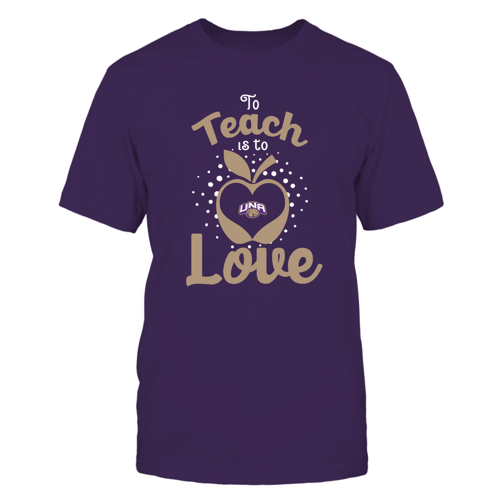 North Alabama Lions - To Teach Is To Love - Team Front picture