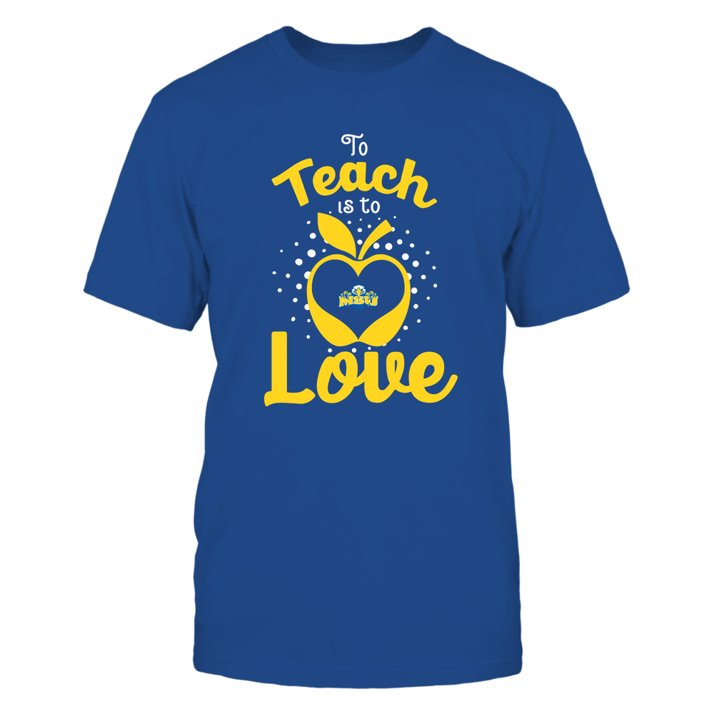 Morehead State Eagles - To Teach Is To Love - Team Front picture
