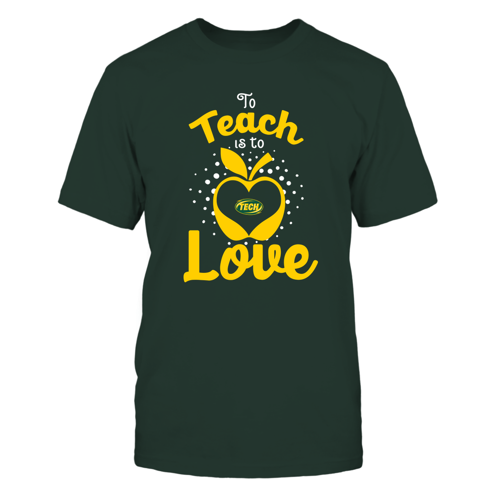 Arkansas Tech Golden Suns - To Teach Is To Love - Team Front picture