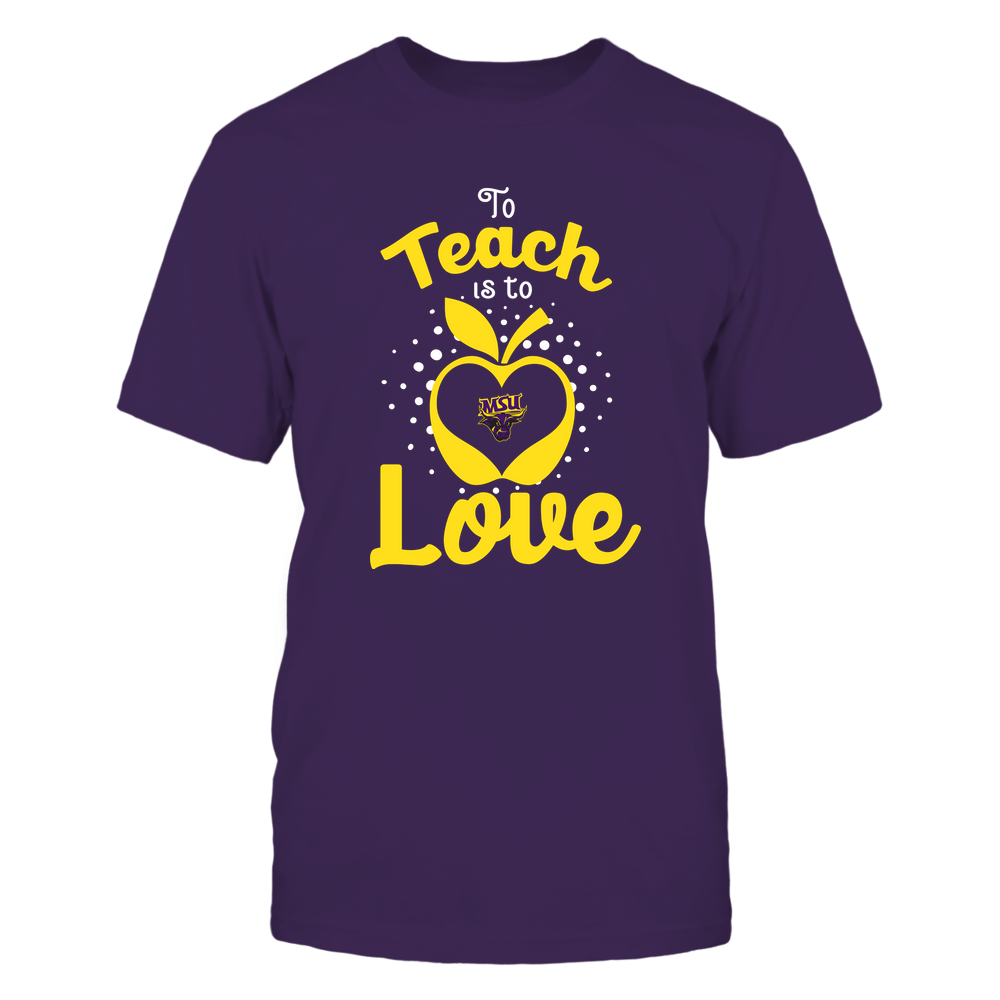 Minnesota State Mavericks - To Teach Is To Love - Team Front picture