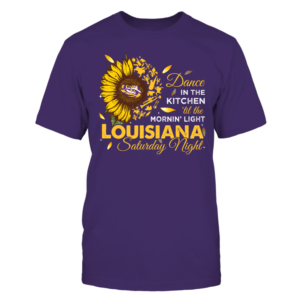 LSU Tigers - Louisiana Saturday Night Sunflower State Things - IF17-IC17-DS45 Front picture