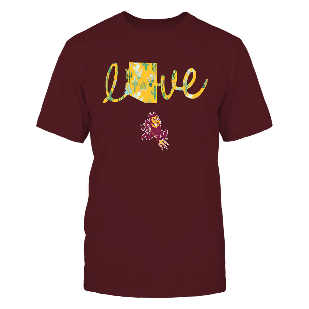 Arizona State Sun Devils - State Love - Cactus Pattern - IF13-IC13-DS45 Front picture