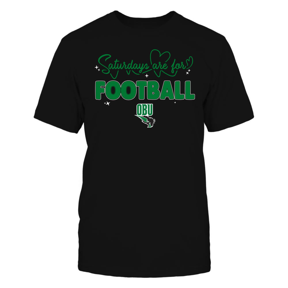 Oklahoma Baptist Bison - 19090910241 - APC - Saturdays Are For Football - Heart Beat Pattern - IF17-IC17-DS27 Front picture