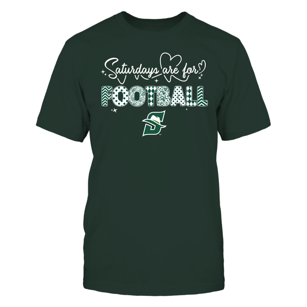 Stetson Hatters - 19090910241 - APC - Saturdays Are For Football - Heart Beat Pattern - IF17-IC17-DS27 Front picture