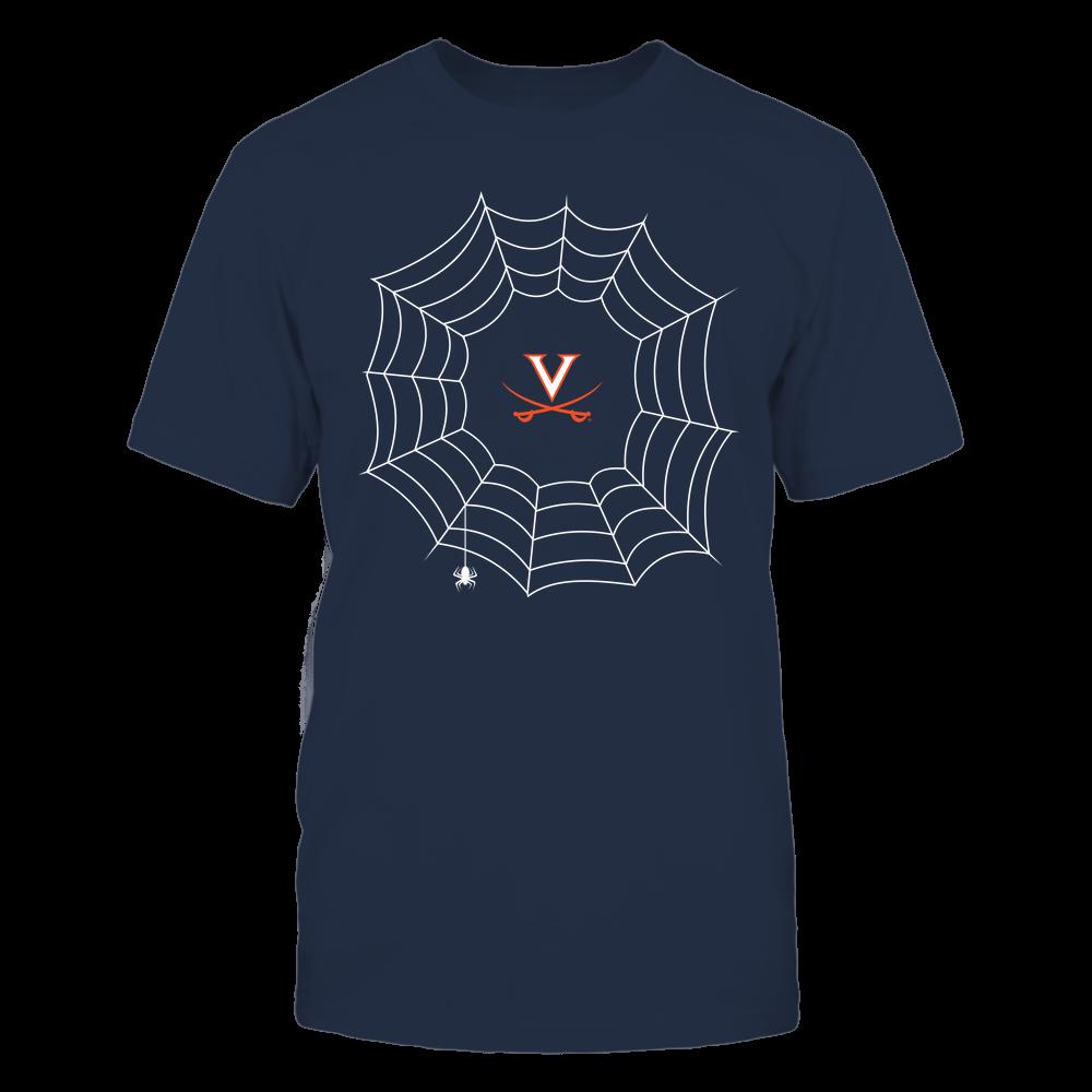 Virginia Cavaliers - Halloween Spiderweb Costume - Team Front picture