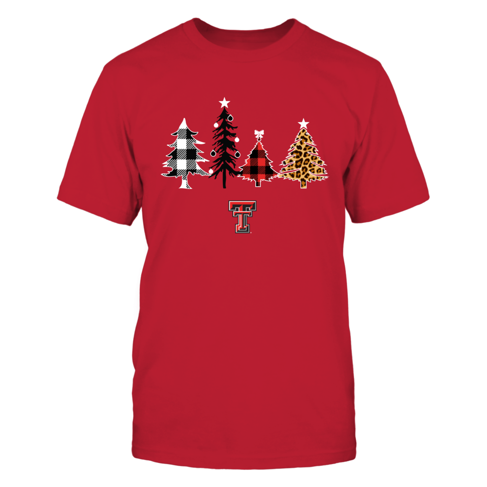 Texas Tech Red Raiders - Christmas - Patterns Christmas Tree - IF13-IC13-DS29 Front picture