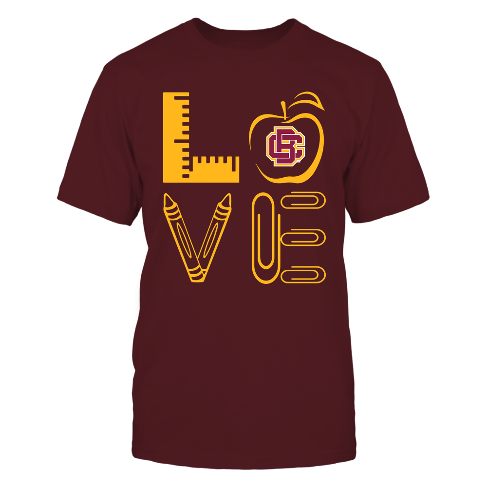 Bethune-Cookman Wildcats - 19062710884 - Stacked Love - Teacher Things - APCX Front picture