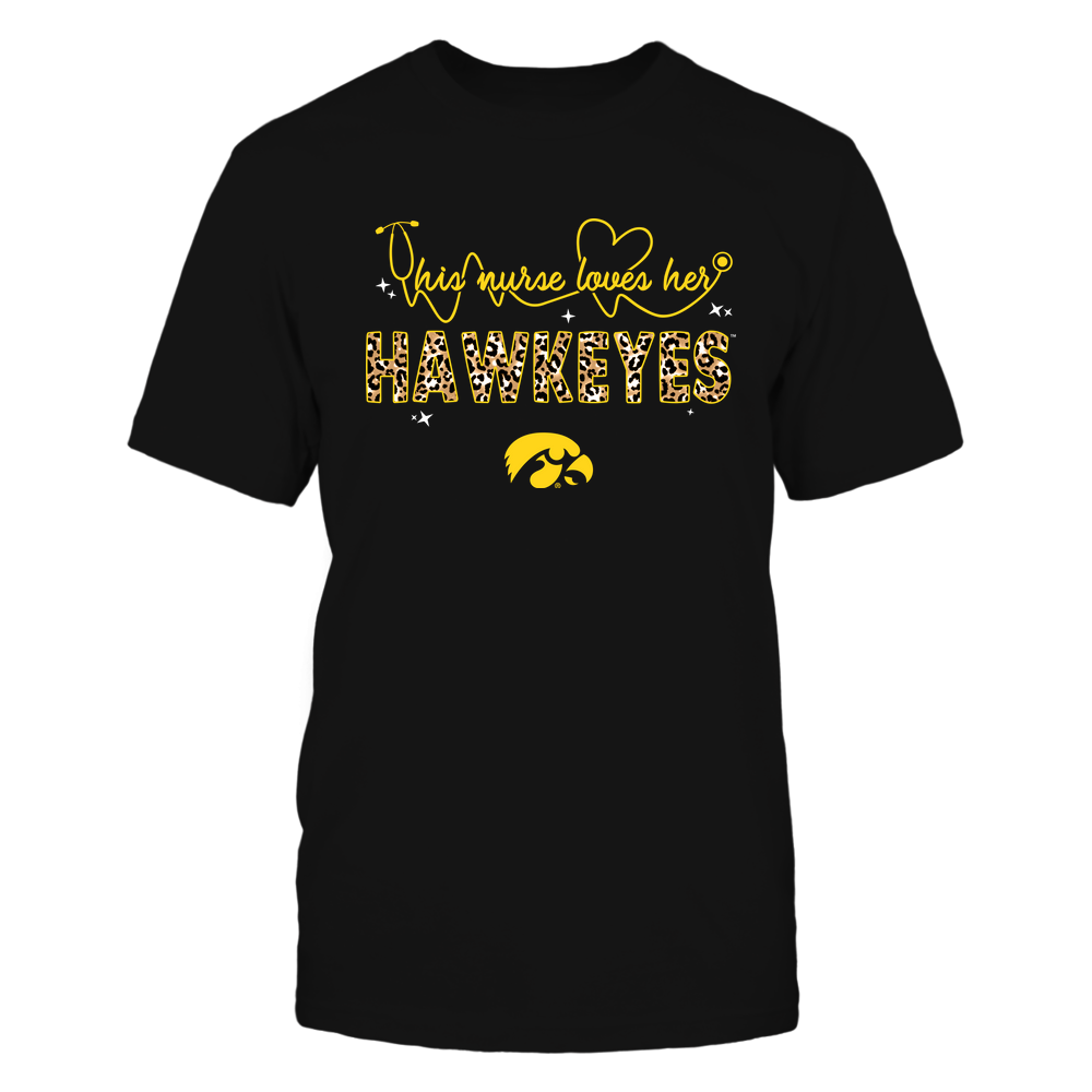Iowa Hawkeyes - This-Nurse-Loves-Leopard-IF17-IC17-DS45 Front picture