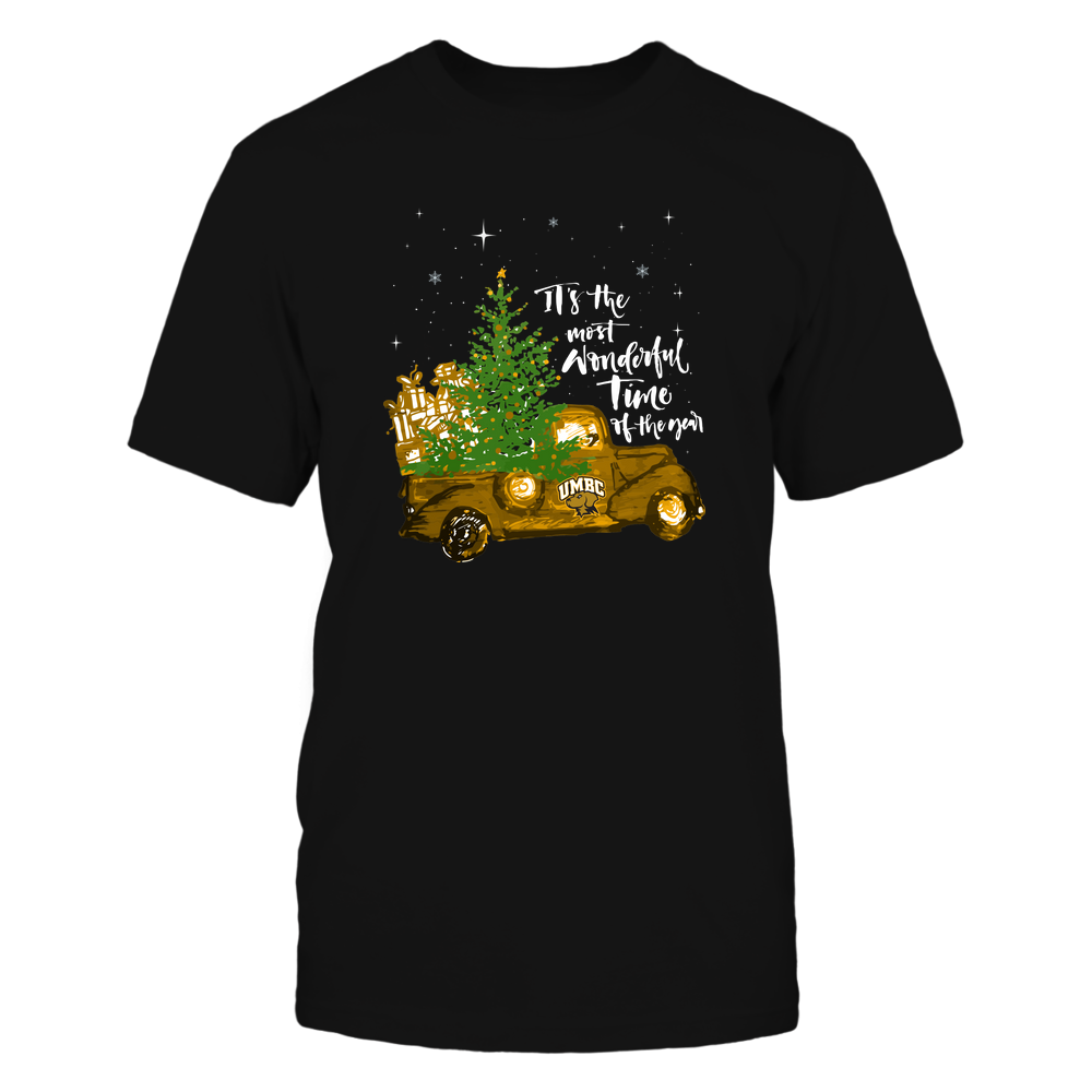 UMBC Retrievers - Christmas-Most-Wonderful-Time-IF13-IC13-DS83 Front picture