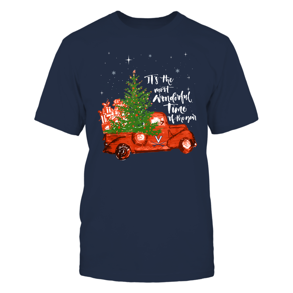 Virginia Cavaliers - Christmas-Most-Wonderful-Time-IF13-IC13-DS29 Front picture