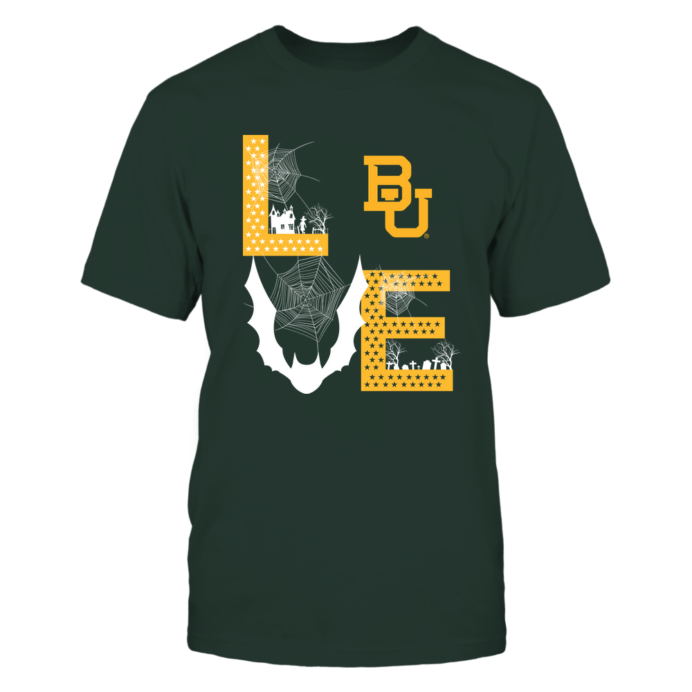 Baylor Bears - Stacked Love - Halloween Bat - Team Front picture