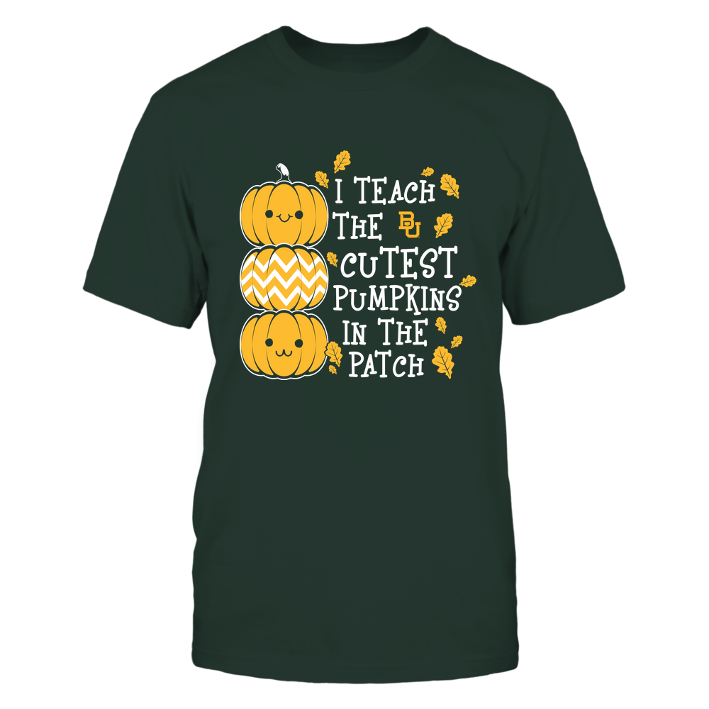 Baylor Bears - Teacher - I Teach The Cutest Pumpkins In The Patch - Fall Front picture