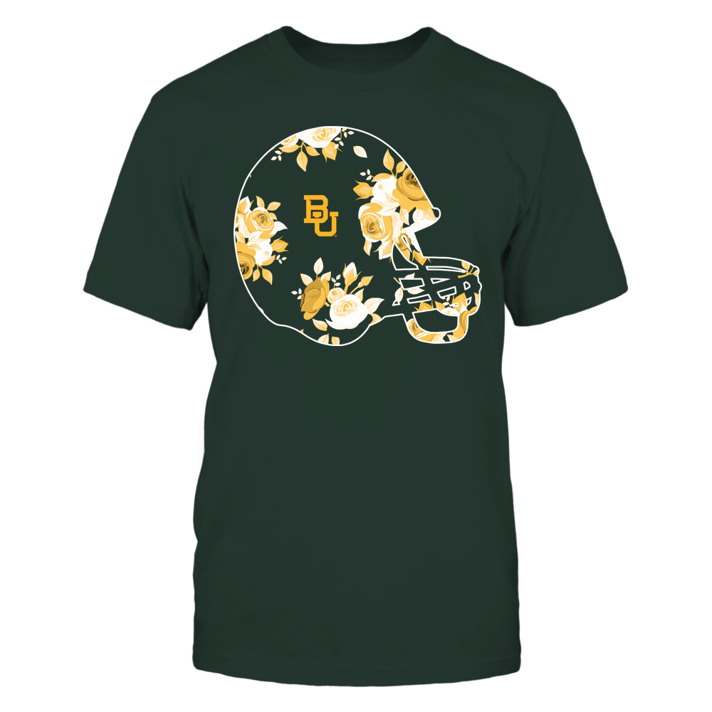Baylor Bears - Football Helmet - Rose Pattern Front picture