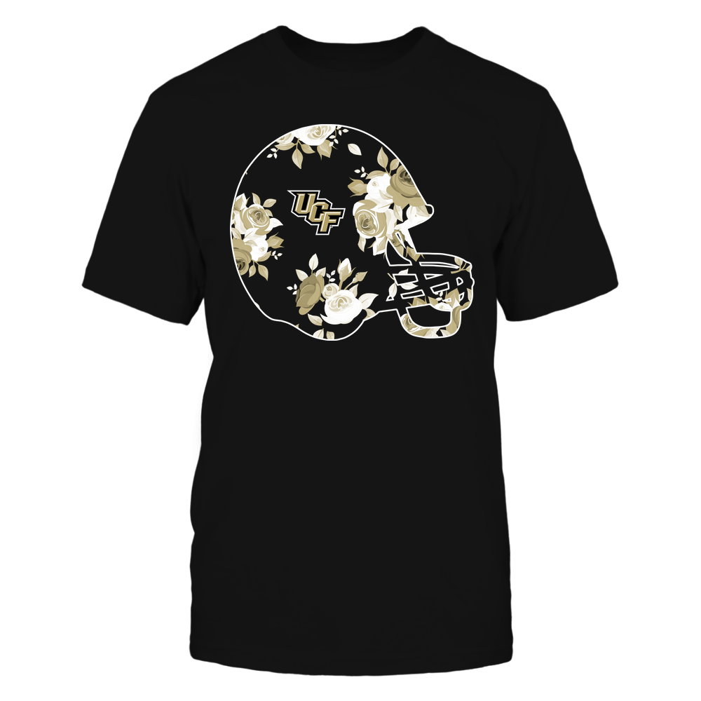 UCF Knights - Football Helmet - Rose Pattern Front picture