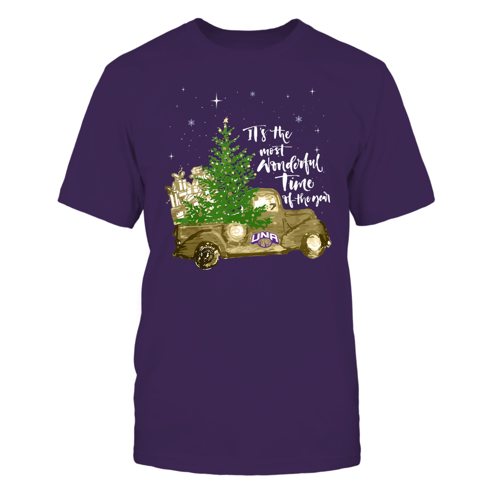 North Alabama Lions - Christmas-Most-Wonderful-Time-IF13-IC13-DS63 Front picture