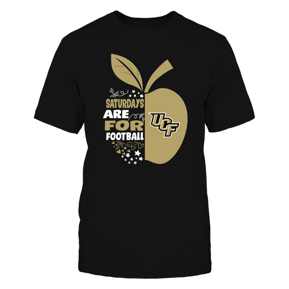 UCF Knights - Teacher Apple - Saturdays Are For Football - Team Front picture