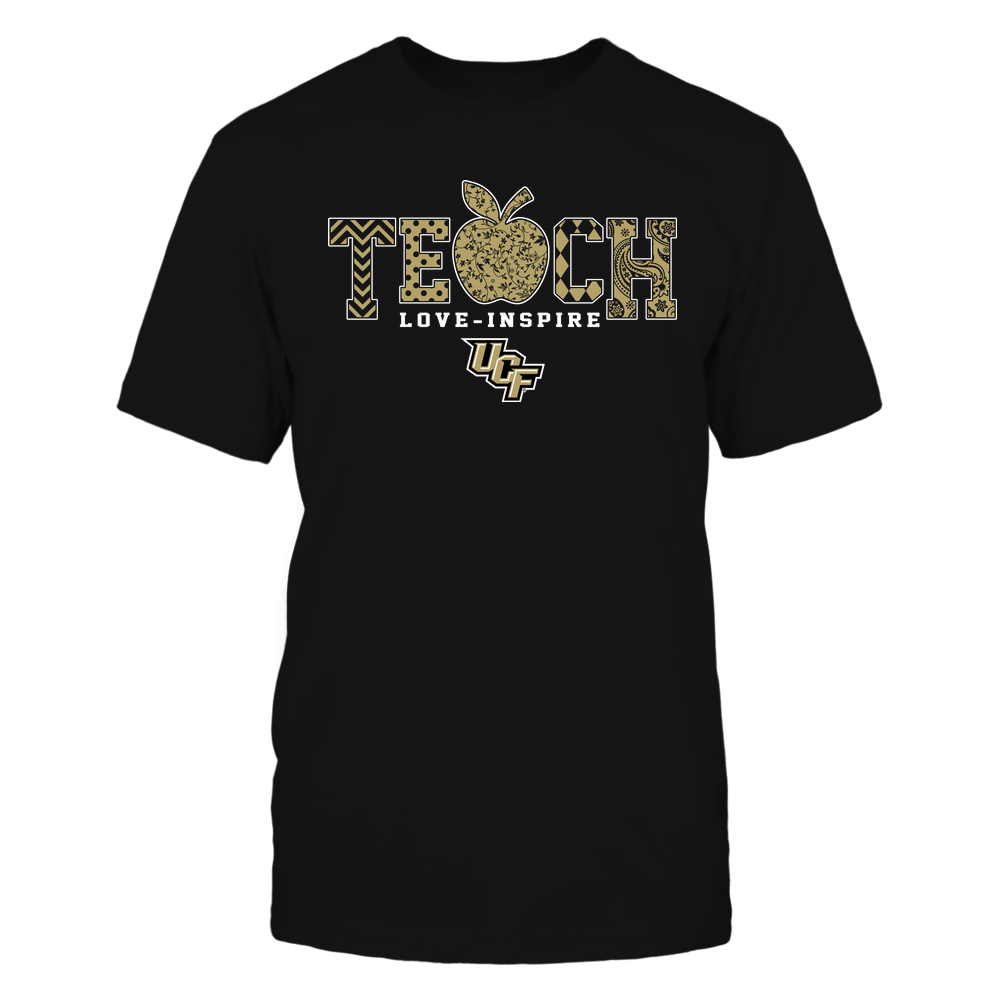 UCF Knights - Teach Love Inspire - Apple Pattern - Team Front picture