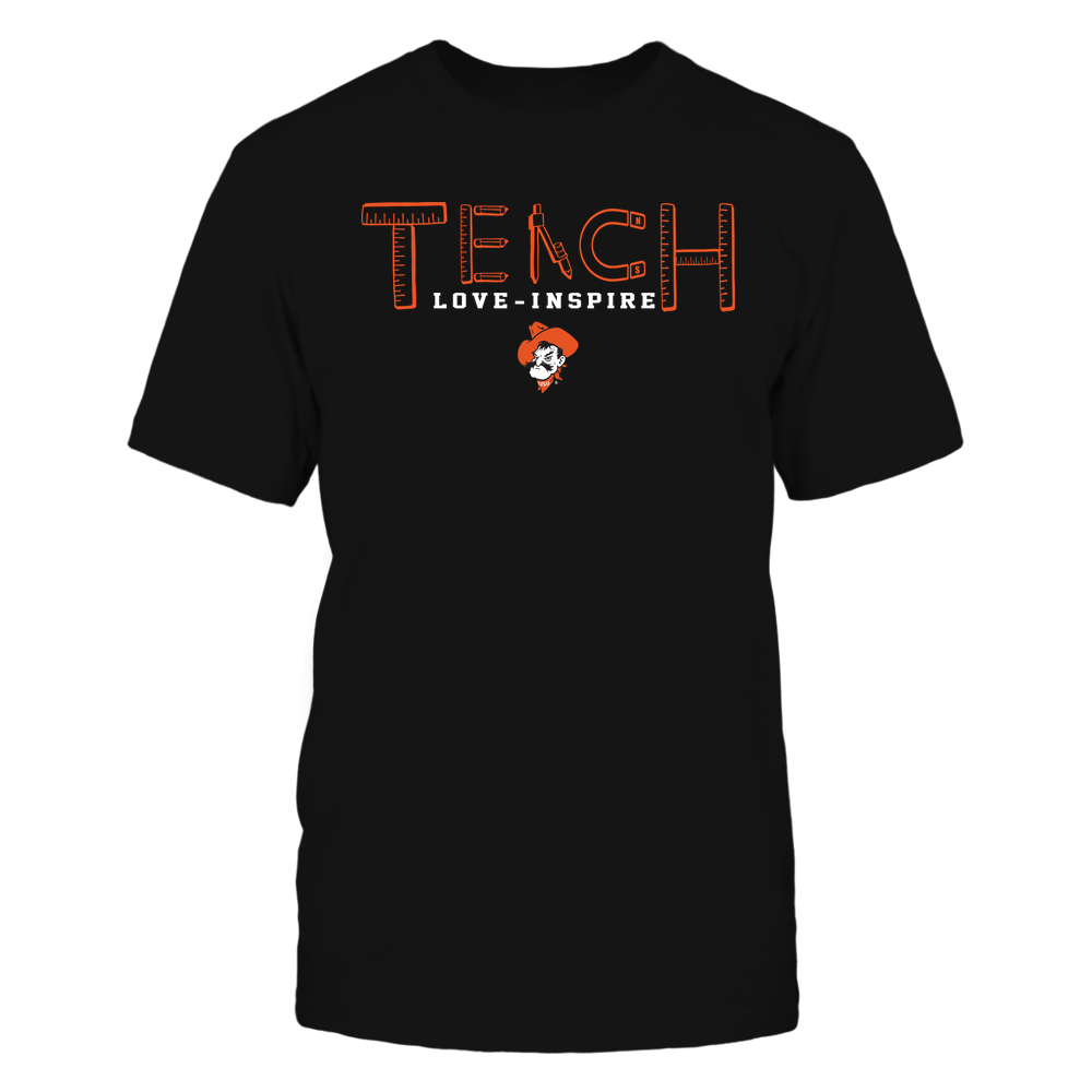 Oklahoma State Cowboys - Teach Love Inspire - Teacher Things - Team  - IF-IC32-DS85 Front picture