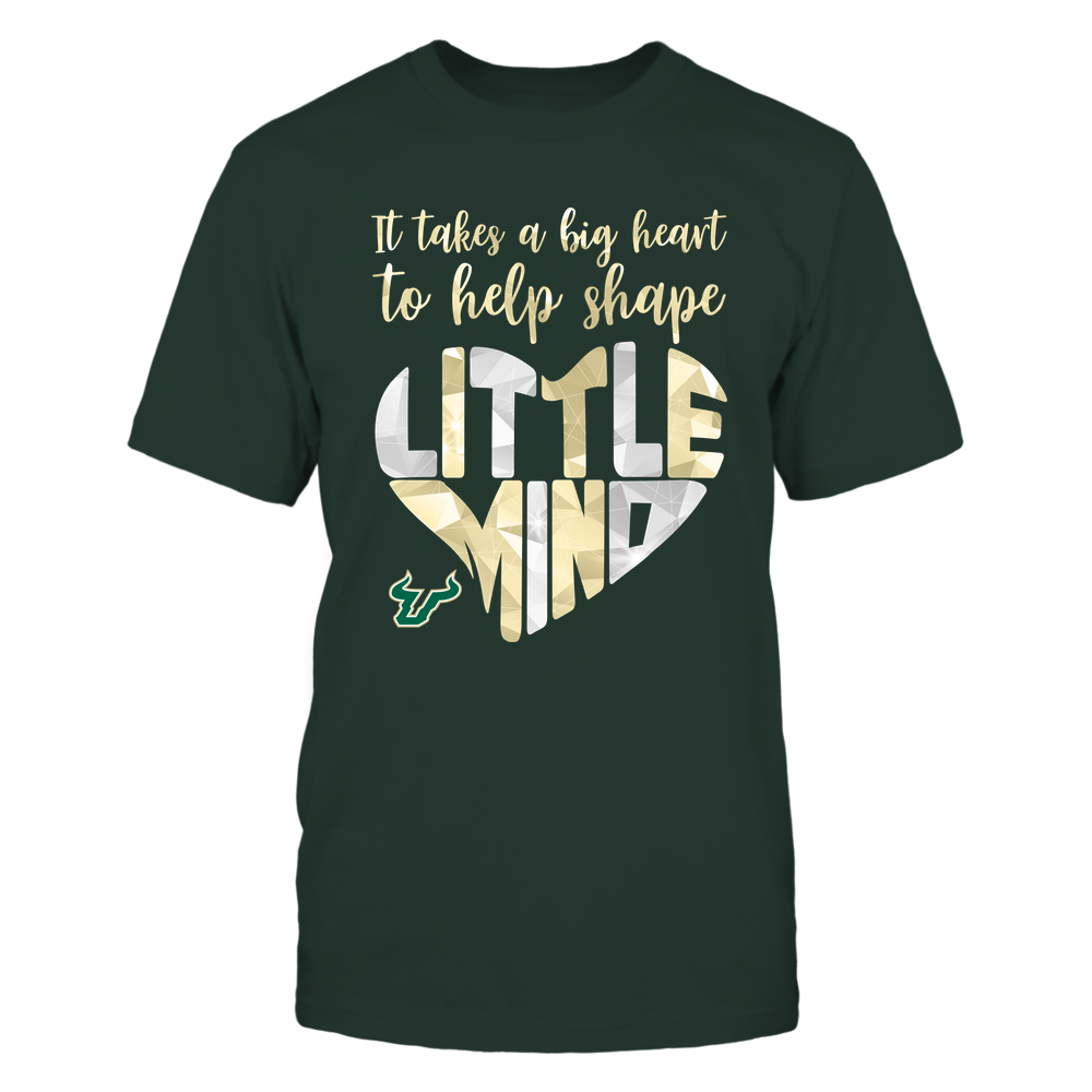 South Florida Bulls - Big-Heart-To-Shape-Little-Minds-IF32-IC32-DS27 Front picture